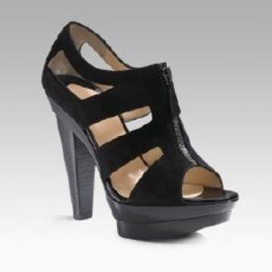 Christian Louboutin Zipette Platform Heels